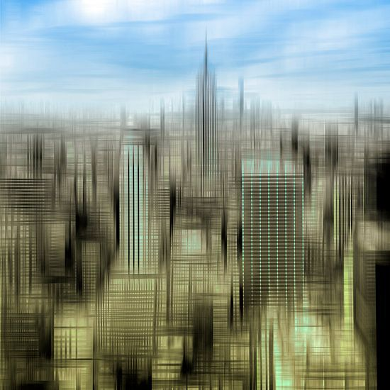 City-Shapes MANHATTAN III