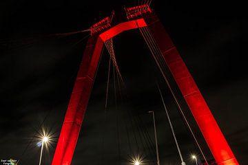 Willemsbrug Rotterdam van joost  van Aalst