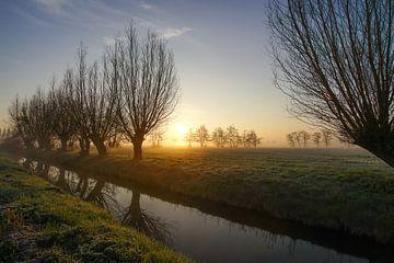 Magische zonsopgang van Dirk van Egmond