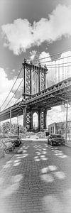 NEW YORK CITY Manhattan Bridge | Panorama