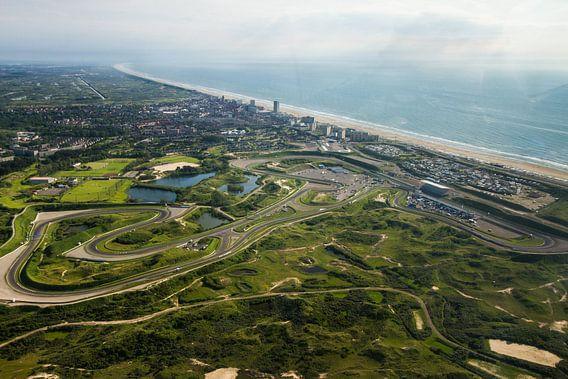 Circuitpark Zandvoort in vogelvlucht