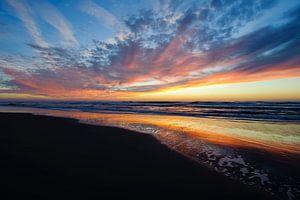 Net na zonsondergang - Texel - Nederland