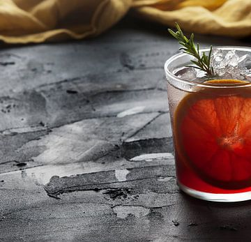 Rode Cocktail van Rose Mentink