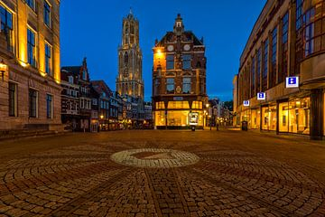 Het Blauwe uur in Utrecht van Thomas van Galen