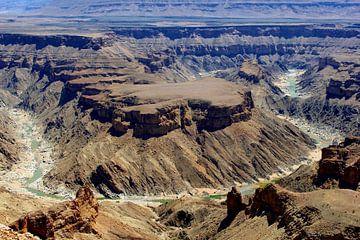 Fish River Canyon, Namibië  van Inge Hogenbijl