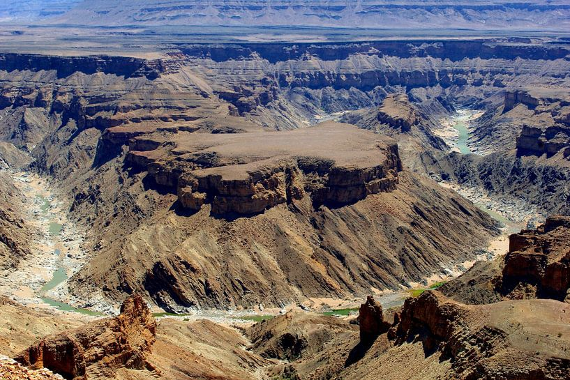 Fischfluss-Canyon, Namibia von Inge Hogenbijl