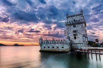 Torre de Belém, Lisbon, Portugal van