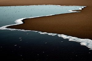 Abstracte Zee van Maaike Zaal