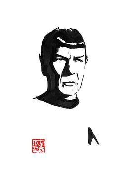 mister spock sur philippe imbert