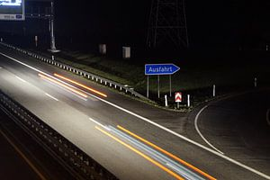 Highway at Night von Dennis Meißner