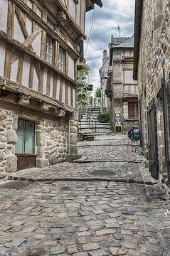 Middeleeuws straatje van Mark Bolijn