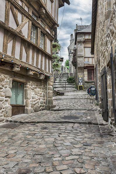 Mittelalterliche Straße von Mark Bolijn