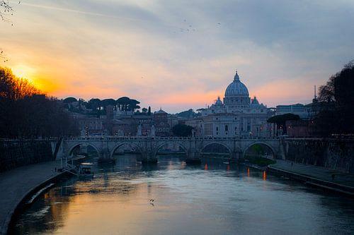 Basilique St Pierre, Rome van Vincent Xeridat