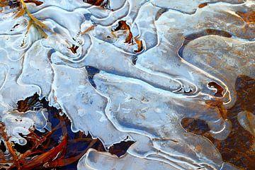 Smeltend ijs  2 van Marian Klerx
