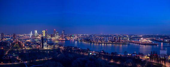 Skyline van Rotterdam van Rene Siebring