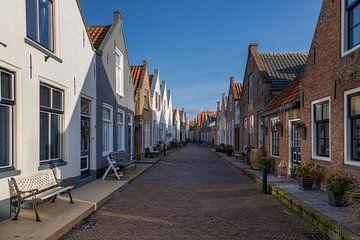 Vieille rue hollandaise sur Bram van Broekhoven
