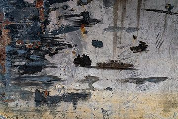 Stille am Wasser in Graublau, Schwarz und Weiß