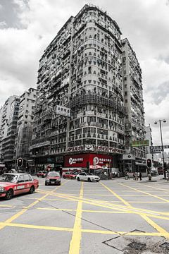 Hong Kong Street view van Roland de Zeeuw fotografie