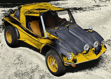 VW-Buggy APAL Jet in yellow & black von aRi F. Huber