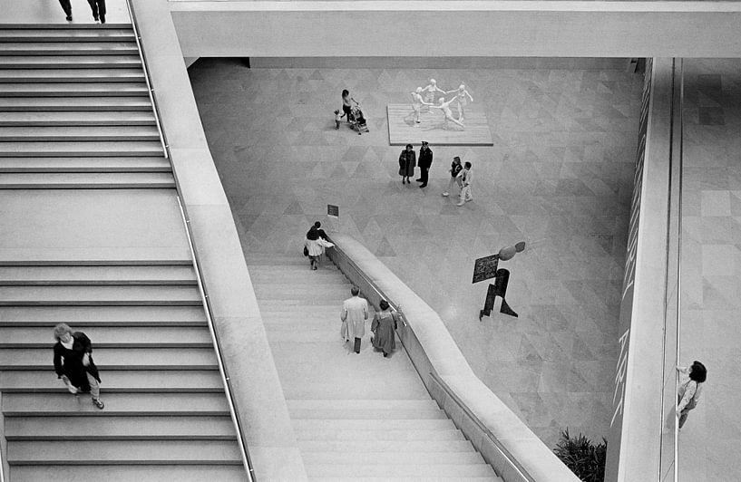 Washington - Mensen in museum van Raoul Suermondt