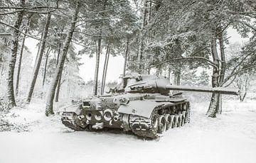 Panzer im Schnee #4 von Olivier Photography