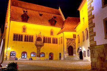 Altes Rathaus zu Regensburg bei Nacht von Roith Fotografie