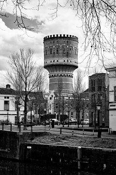 Architectuur in Utrecht: De Watertoren aan de Lauwerhof in Utrecht (II) von De Utrechtse Grachten