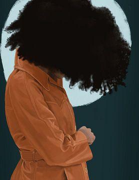 Afro Jack van Kim Verhoef