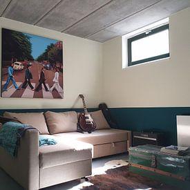 Photo de nos clients: The Beatles Abbey Road Painting sur Paul Meijering