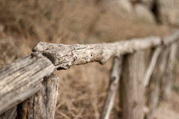 Holzzaun von Sandra Hogenes