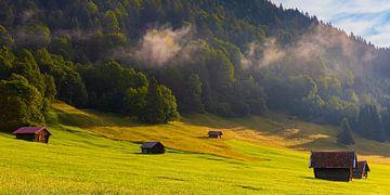 Een ochtend in Beieren van Henk Meijer Photography