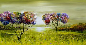Trees van Gena Theheartofart