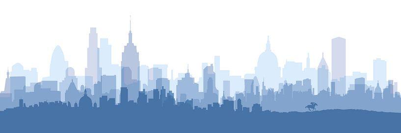Blue City van Harry Hadders