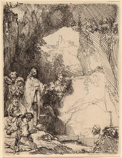 Rembrandt van Rijn De opwekking van Lazarus