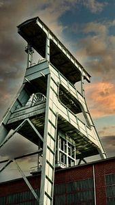 Zechenturm der Zeche Ewald in Herten von HGU Foto