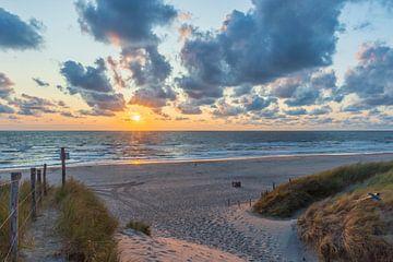 Sonnenuntergang Meer von Christiaan de Graaf