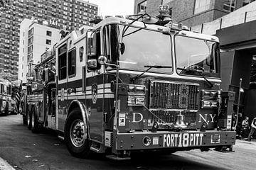 Feuerwehrleute in New York von Ivo de Rooij