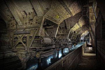 Verlaten staalfabriek van Eus Driessen