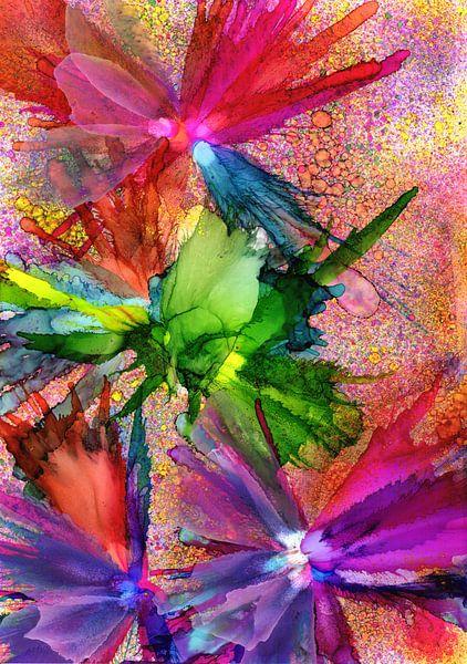 Flower Power van Jolanda Berbee