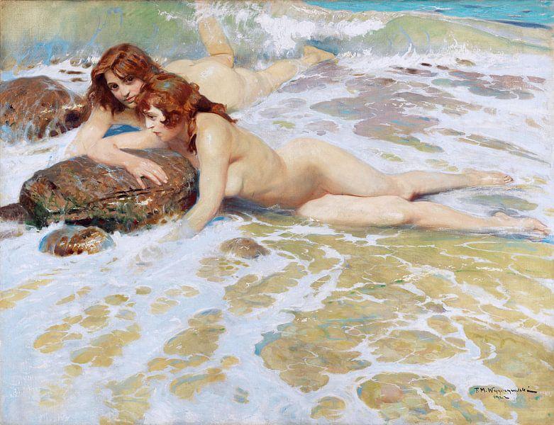 Meerjungfrauen, Felix Michael Wygrzywalski- 1922 von Atelier Liesjes