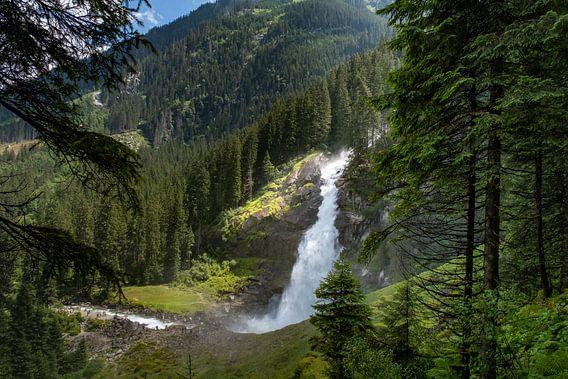 Krimmler watervallen in Oostenrijk