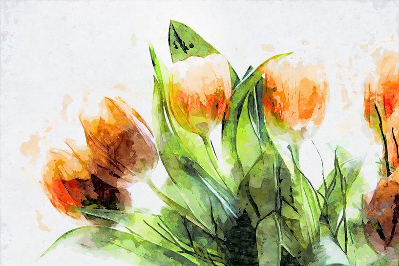 Tulips 2020 von Andreas Wemmje