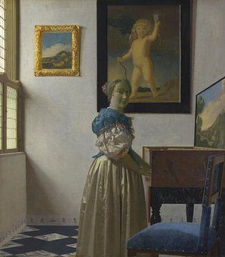 Staande virginaalspeelster, Johannes Vermeer van Meesterlijcke Meesters