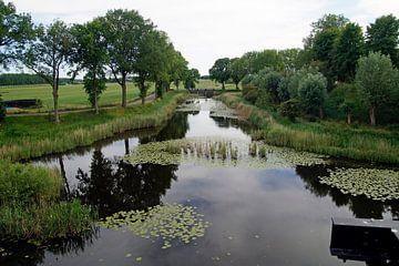 Hollands landschap ( waterlinie) van wil spijker
