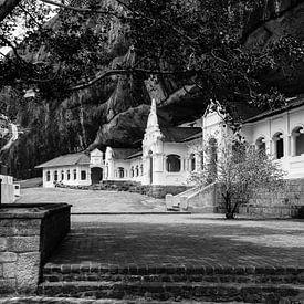 The Royal Rock Temple complex location Dambulla van Inez Wijker
