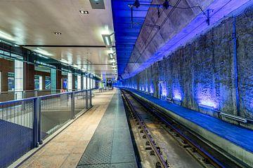 Antwerpen CS - demi blau von Rene Siebring