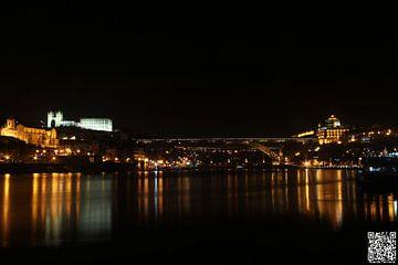 Porto & Gaia Two cities separated from Rio Douro van Ricardo Ferreira