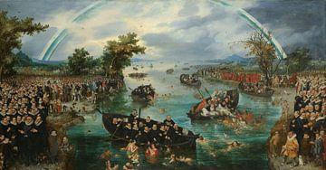Das Seelenfischerei, Adriaen Pietersz. van de Venne