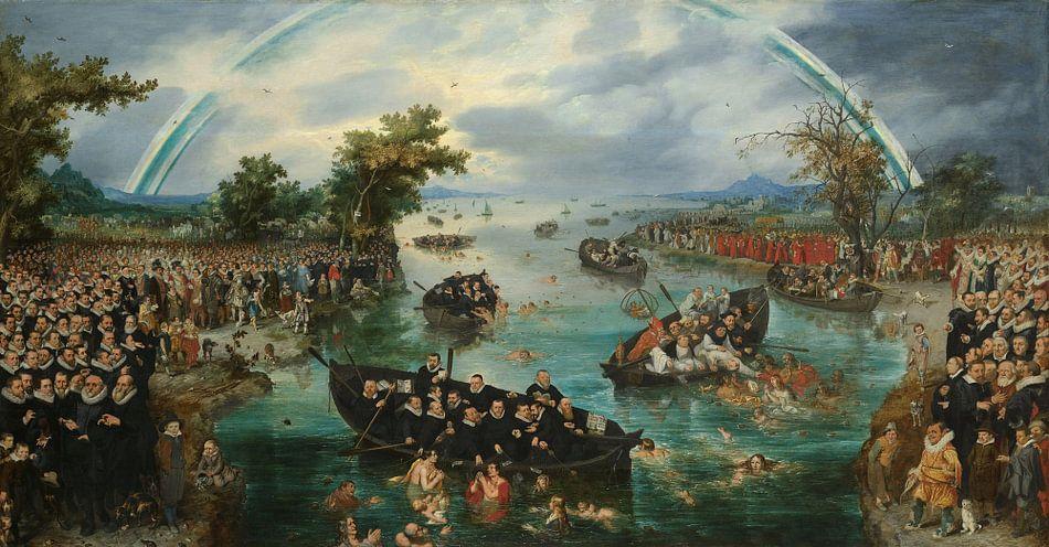 De zielenvisserij, Adriaen Pietersz. van de Venne van Meesterlijcke Meesters