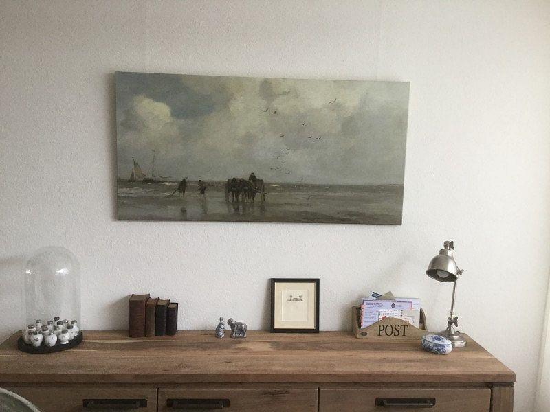 Klantfoto: Schelpenvissen, Jacob Maris van Hollandse Meesters